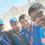 Ntf group staff at dakar rally